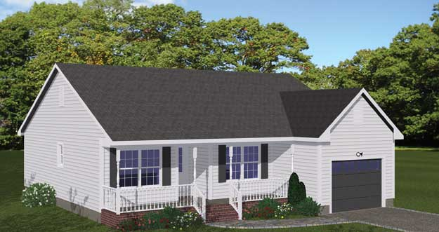 Free Blueprints - New Line Home Design: Most Por on