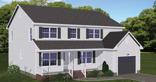 Free Blueprints - New Line Home Design: Two Story Homes