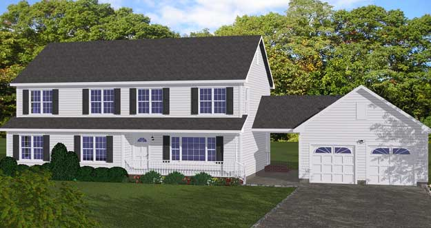 Free blueprints new line home design two story homes for New two story homes