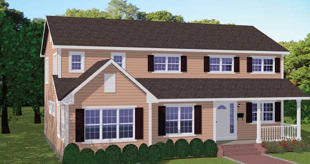 Free Blueprints - New Line Home Design: Single Family Homes