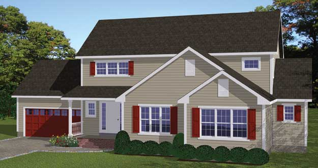 Free Blueprints - New Line Home Design: Single Family Homes on