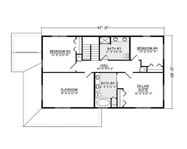 Free Home Plans - New Line Home Design Plan   810