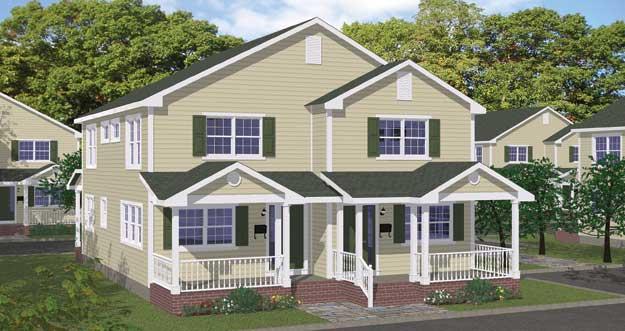 2 Family Home Designs Modern House