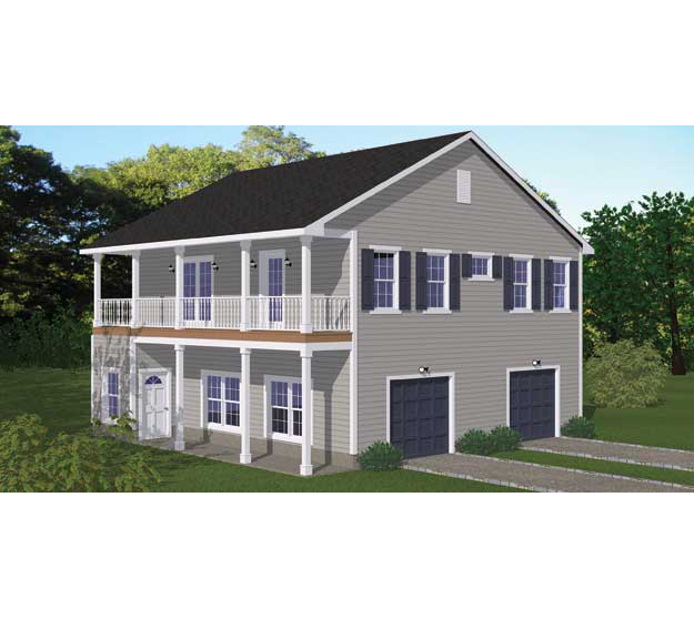 2 bedroom garage apartment 28 images luxury barn homes for Double garage apartment plans